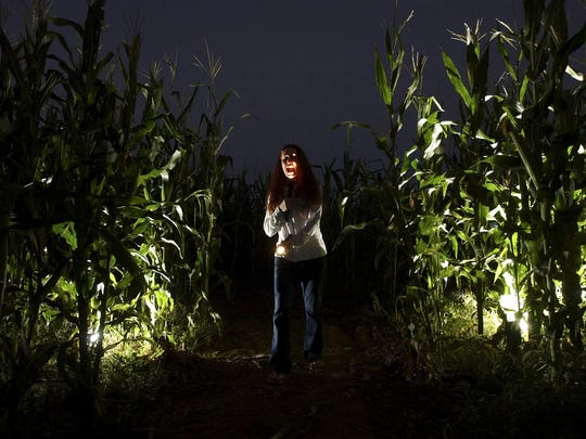 The Haunted Corn Field at Buckelew Farms in Tucson.