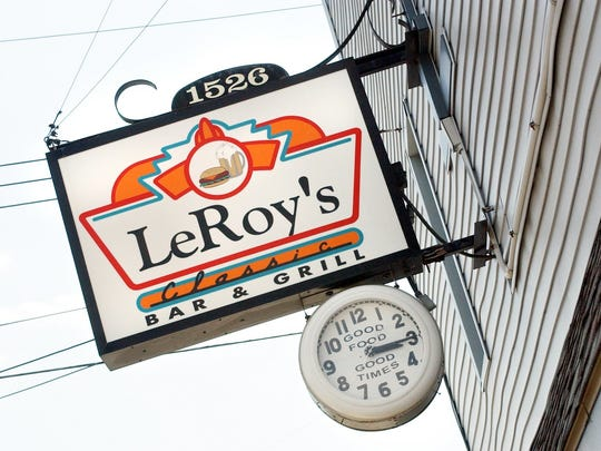 LeRoy's Classic Bar and Grill at 1526 Cedar Street