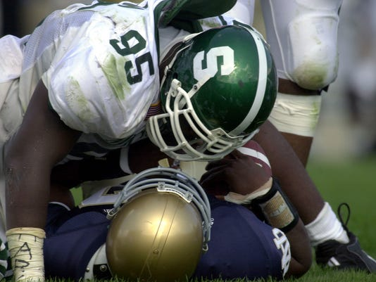 Michigan State Notre Dame through the years