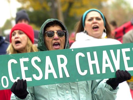 Chavez rally-1