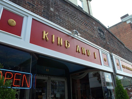 The King and I Thai restaurant in Nyack.
