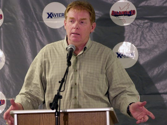 Enquirer file The late Skip Prosser is the inspiration for the Classic in his name tonight at 7 p.m. Text: 2001.0424.13.ditphto Xavier University Head Basketball coach Skip Prosser talk to the press at the Cintas Center on the Xavier Campus as he resigns to talk the head coaching job at Wake Forest University on Tue 4-24-2001.