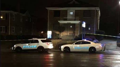 Police investigate after a man was found with critical injuries early Monday. He later died in hospital