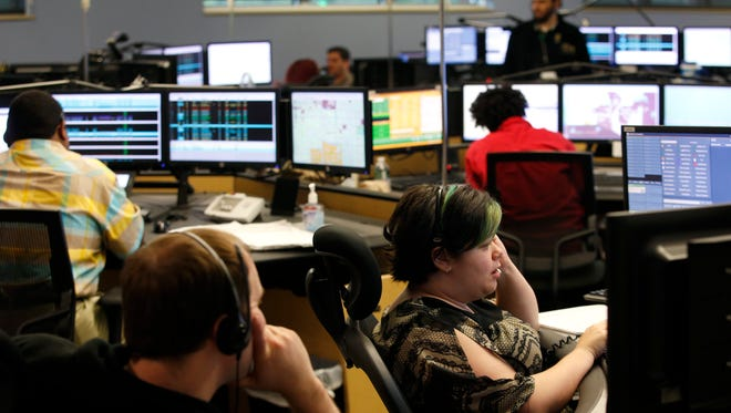 Consolidated Dispatch Agency on Tuesday, June 9, 2015.