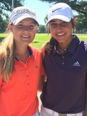 Tennessean/Metro Parks Schooldays Golf Tournament champion Ashley Gilliam, left, and runner-up Kynadie Adams are both qualified for the 2018 U.S. Women's Amateur.