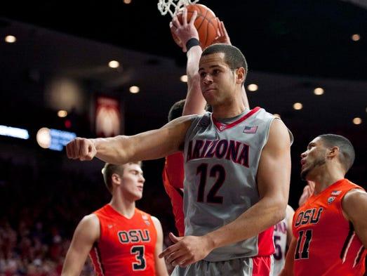 Jan 30, 2016: Arizona Wildcats forward Ryan Anderson