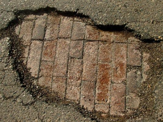 Potholes- secondary