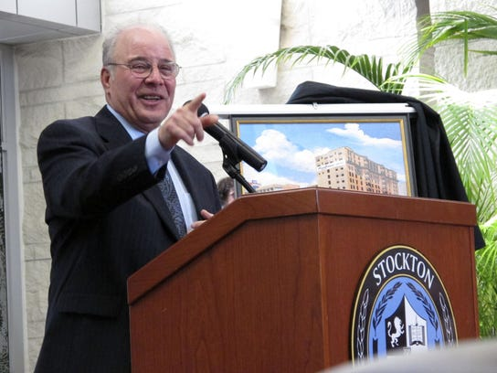 Harvey Kesselman, acting president of Stockton University