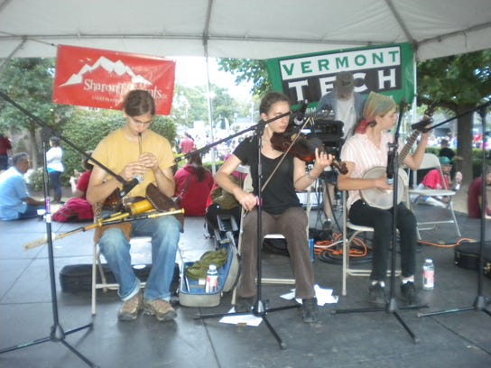 The Zeichners are among the performers Saturday at