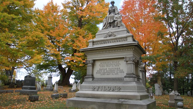 Mt. Hope Cemetery is among Rochester's most renowned locations.
