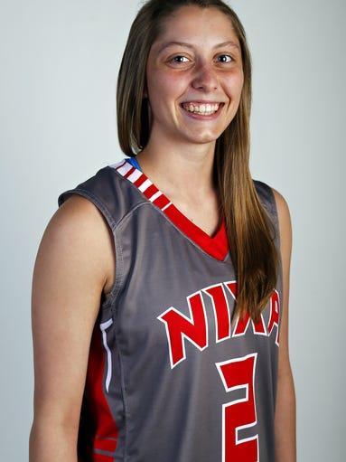 All Ozarks basketball team member Toshua Leavitt of