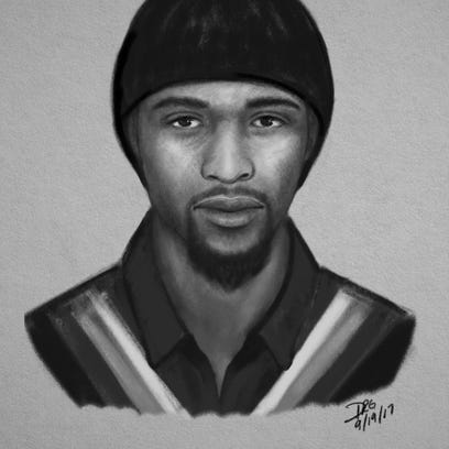 The Mauldin Police Department released this sketch