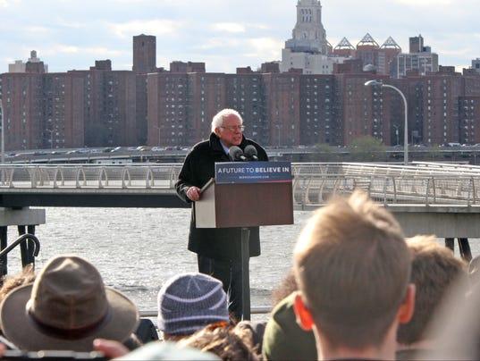 Bernie Sanders Rally in Greenpoint