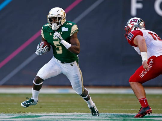South Florida's Marlon Mack is the AAC's most dangerous