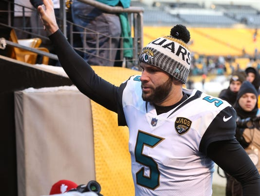 USP NFL: AFC DIVISIONAL PLAYOFF-JACKSONVILLE AT PI S FBN PIT USA PA