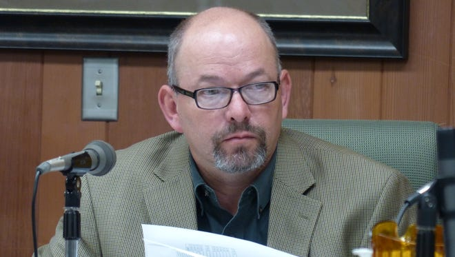 Dallas Draper also serves as vice chairman of the Lincoln County Commission.