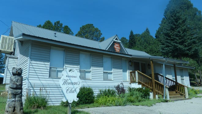 The clubhouse of the Ruidoso Federated Woman's Club is on Evergreen Street.