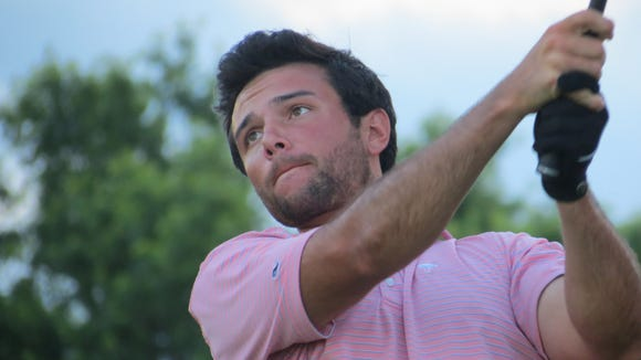 Collegian Thomas La Morte of Haworth rallied to tie for third at the Arcola Cup.