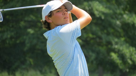 Ridgewood's Will Celiberti competes for the New Jersey Junior title after winning last year's Boys crown.