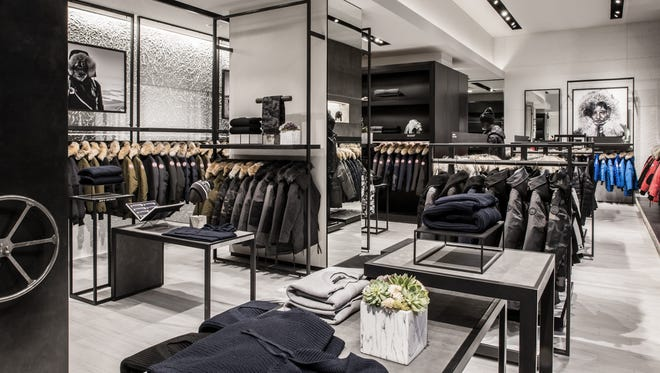 Photos of Canada Goose, a luxury outerwear brand coming to the Mall at Short Hills.