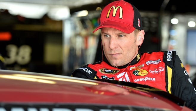 Jamie McMurray says he is not a risk-taker, and flying with the U.S. Thunderbirds made him nervous.