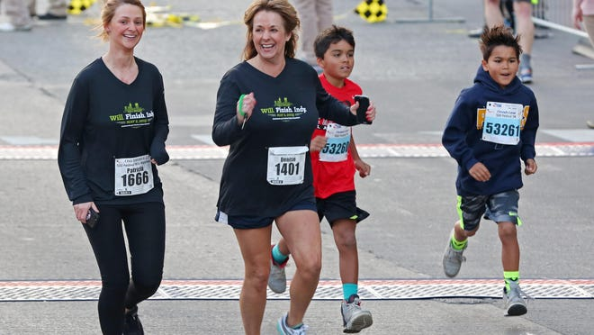 Last minute runners start the Finish Line 500 Festival 5K race in May. This summer brings a new batch of running races.