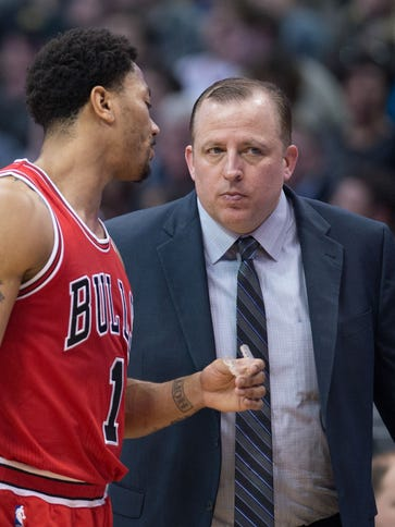 Tom Thibodeau and Derrick Rose went to one conference