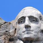 Closeup of George Washington