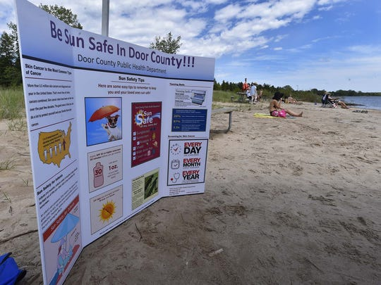 The Door County Public Health Department will be providing tips for being sun safe this summer.