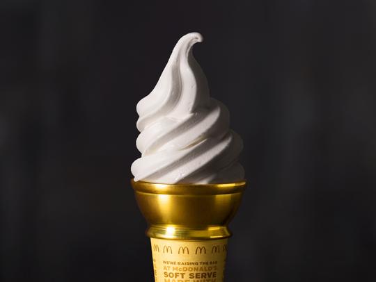 McDonald's golden ice cream cone could win someone