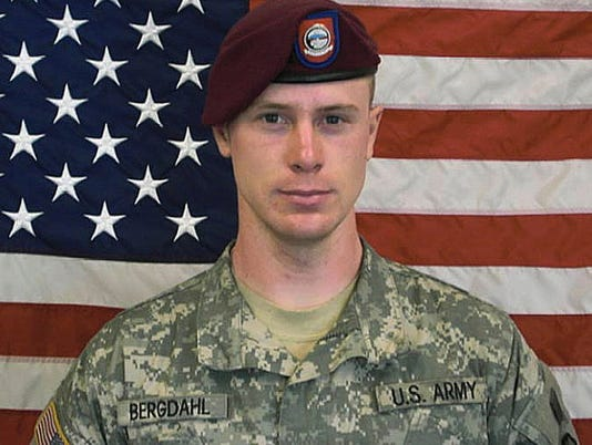 Ex-POW Bergdahl had been discharged from Coast Guard