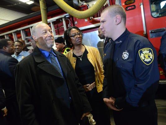 Detroit FD medical first responder training program