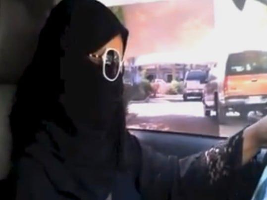 AP Mideast Saudi Women Driving