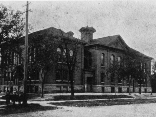 Union Public School, built in 1869, was the area's first publicly-funded high school. It was demolished in 1961, and the land is now the parking lot south of St. Cloud City Hall.