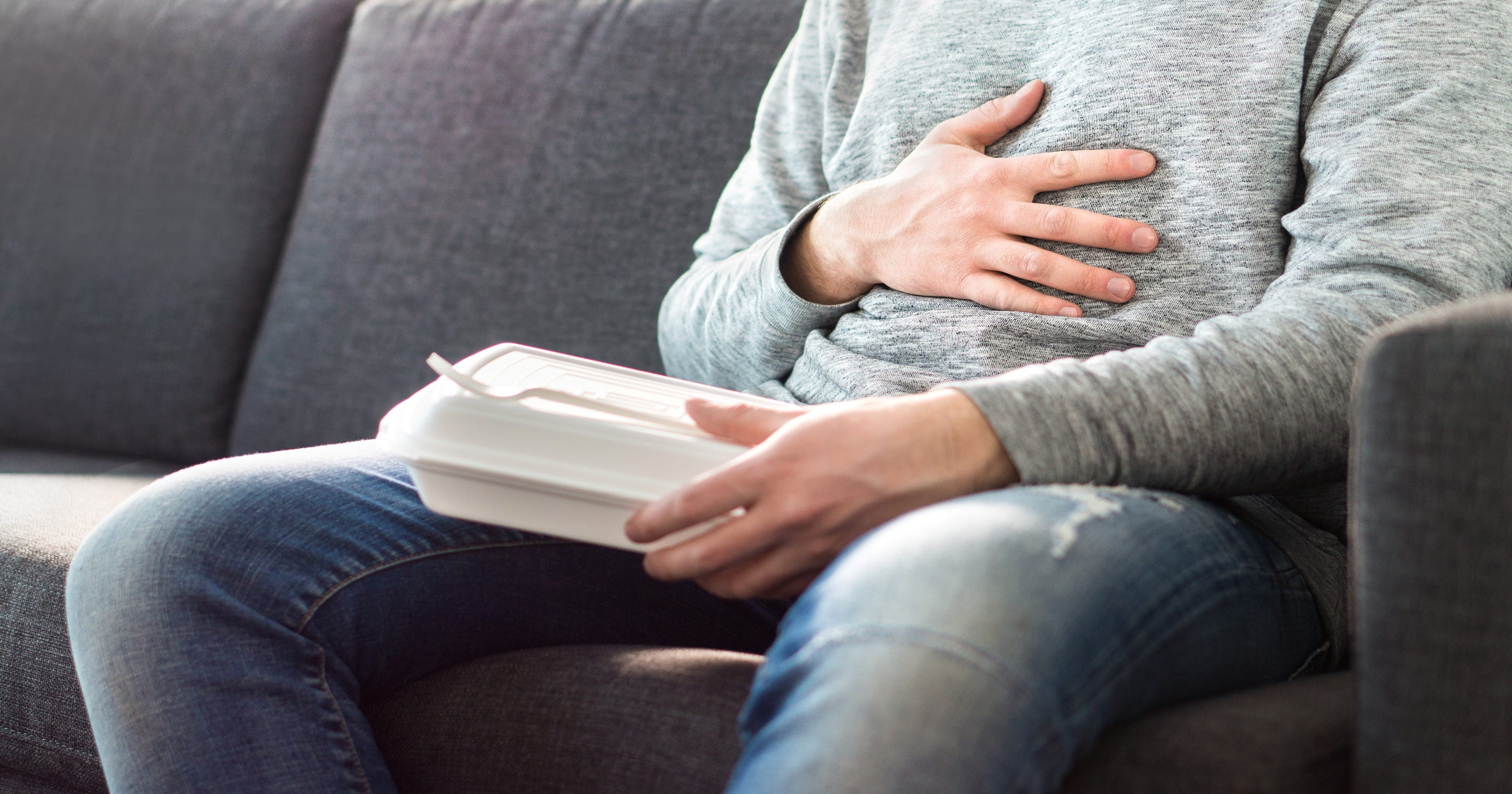 Gastritis, or inflammation of the stomach lining, may be to
