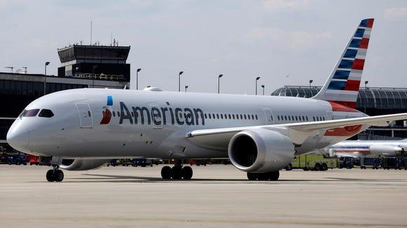 American Airlines' first Boeing 787 Dreamliner prepares