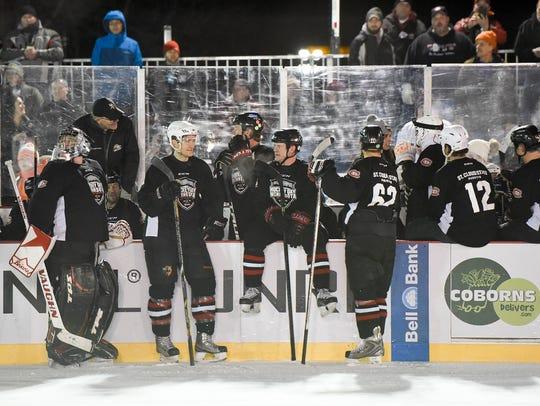 St. Cloud State men's hockey alumni teams play Friday,