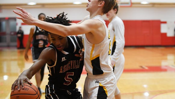 Tuscola defeated Asheville 68-55 in the Western Mountain