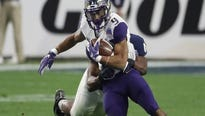 Washington's leading rusher ends speculation about making himself eligible for the NFL draft