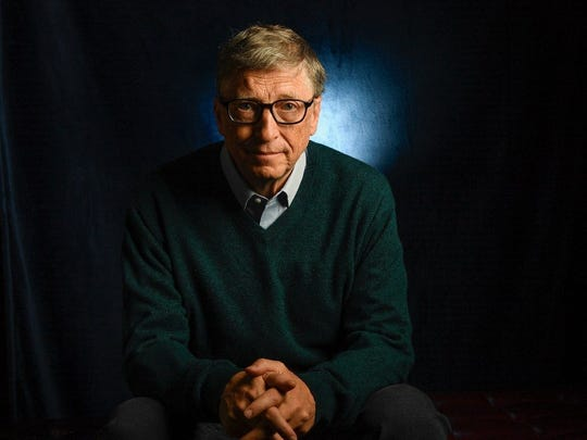 Bill Gates, 61, Microsoft cofounder and, along with