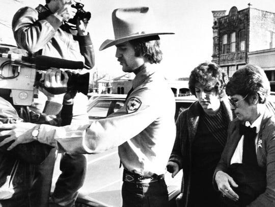 FILE - In this Feb. 16, 1984, file photo, Genene Jones,