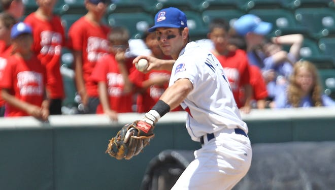 Shortstop Steve Nyisztor is the second player in Boulders history to sign with a big-league organization.
