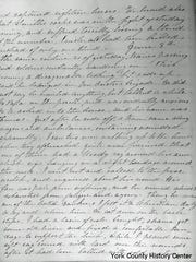 June 3, 1864 page from Ella Bassett Washington's journal.