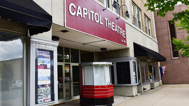 The Rome Capitol Theatre, shown here Wednesday, has remained closed since March. Starting Thursday, Cinema Capitol will showcase independent movies in the courtyard.