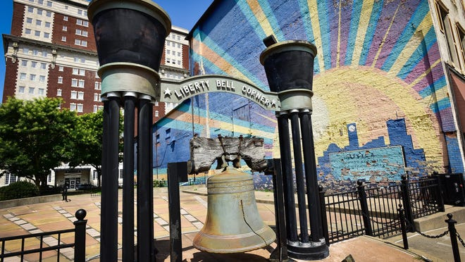 A plan to recreate Liberty Bell Corner park in downtown Utica is among the projects on a final priority list reviewed by the Downtown Revitalization Initiative local planning committee.