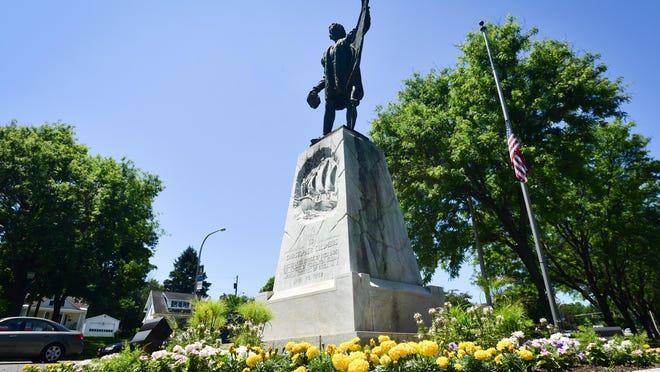A petition to remove the Christopher Columbus statue on Memorial Parkway in Utica prompted a second petition to keep the monument in place. The petitions on change.org have received more than 2,600 signatures.