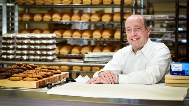 Dan Dowe, owner of Hemstrought's Bakeries in Utica.