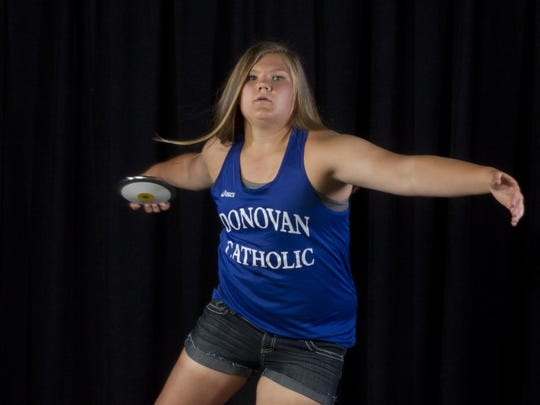 Alyssa Wilson of Donovan Catholic is the 2015 All-Shore Girls Track & Field Athlete of the Year.