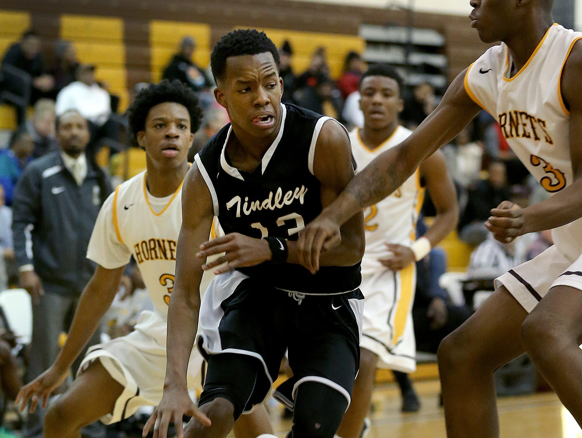 Tindley junior Eric Hunter has already surpassed 1,000 career points.