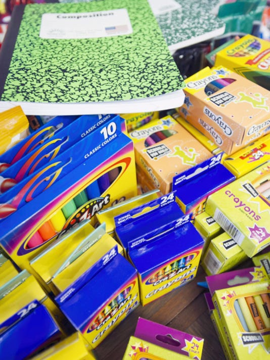 Organizations likes United Way of York call for donations of school supplies such as crayons and marble bound notebooks to equip every child for a successful year ahead.